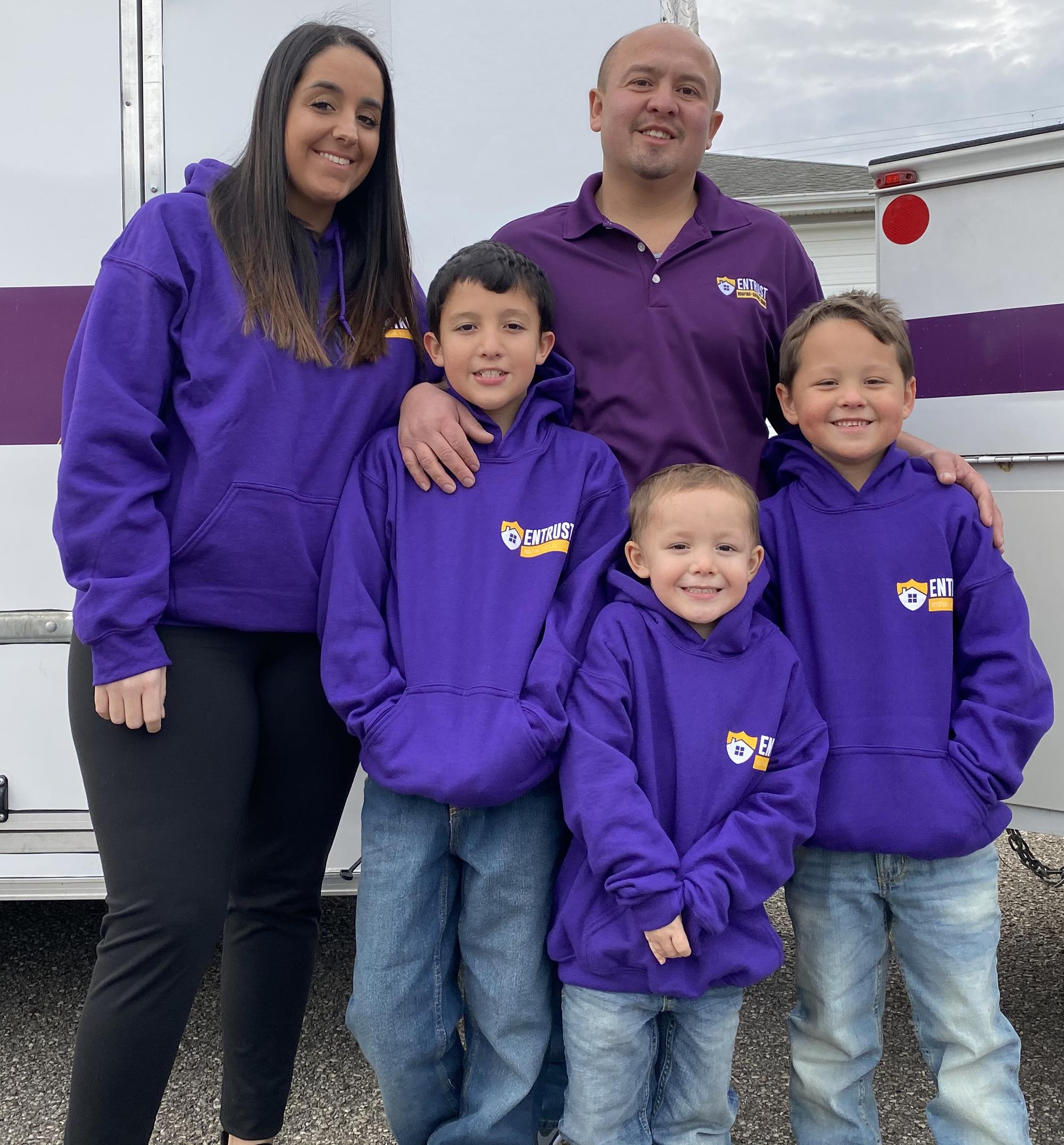 Oscar Lopez and Family